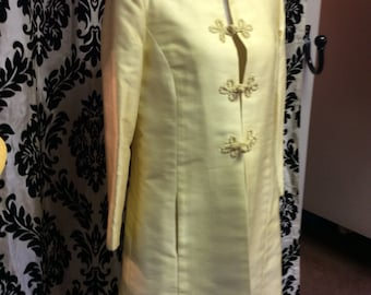 1950's Sun Yellow Spring Coat