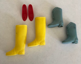 Vintage Barbie AS-IS Shoe and Boot Lot Japan