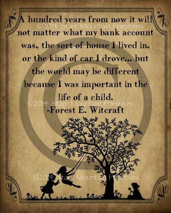 Forest Quotes: Primitive Life Of A Child Quote Forest E. Witcraft