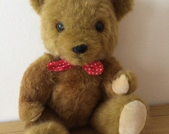 Adorable vintage channel island brown teddy bear by Laurence Dean