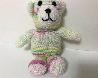 Whitney the White Toy Teddy Bear