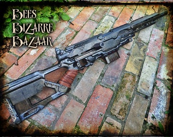 Cosplay Painted Nerf Gun -Sniper Hunting Rifle - Cosplay - Longstrike