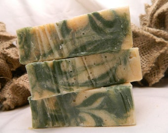 Rosemary Mint Goats Milk Soap