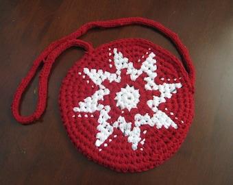 red star handbag