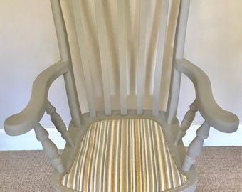 NOW SOLD Grandfather Farmhouse Windsor Chair