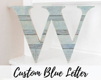 Wood Letter, Wall Letter, Woodland Nursery, Rustic Home Decor, Wood Letter for Wall, Farmhouse Decor, Room Decor, Entryway Decor