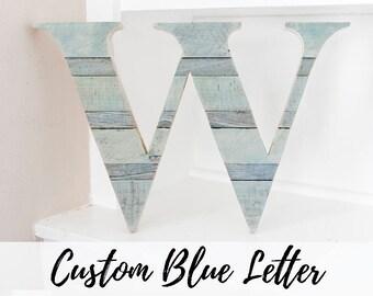 Wood Letter, Wall Letter, Woodland Nursery, Rustic Home Decor, Wood Letter for Wall, Farmhouse Decor, Room Decor, Entryway Decor