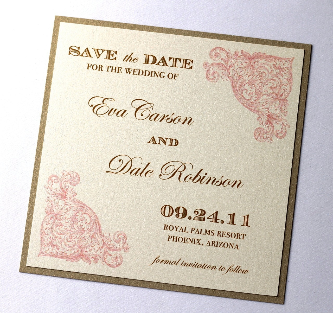 save the date samples