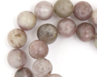 Lilac Stone Beads - 8mm Round