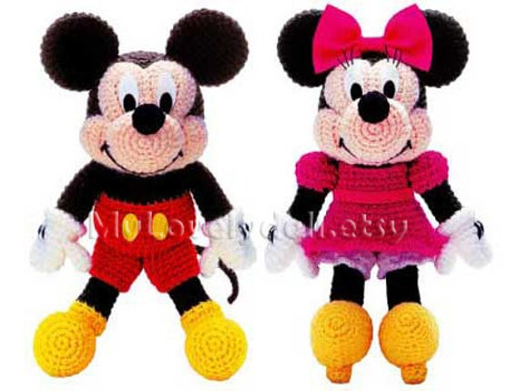 Minnie Mouse Crochet Patterns Images Knitting Patterns Free Download