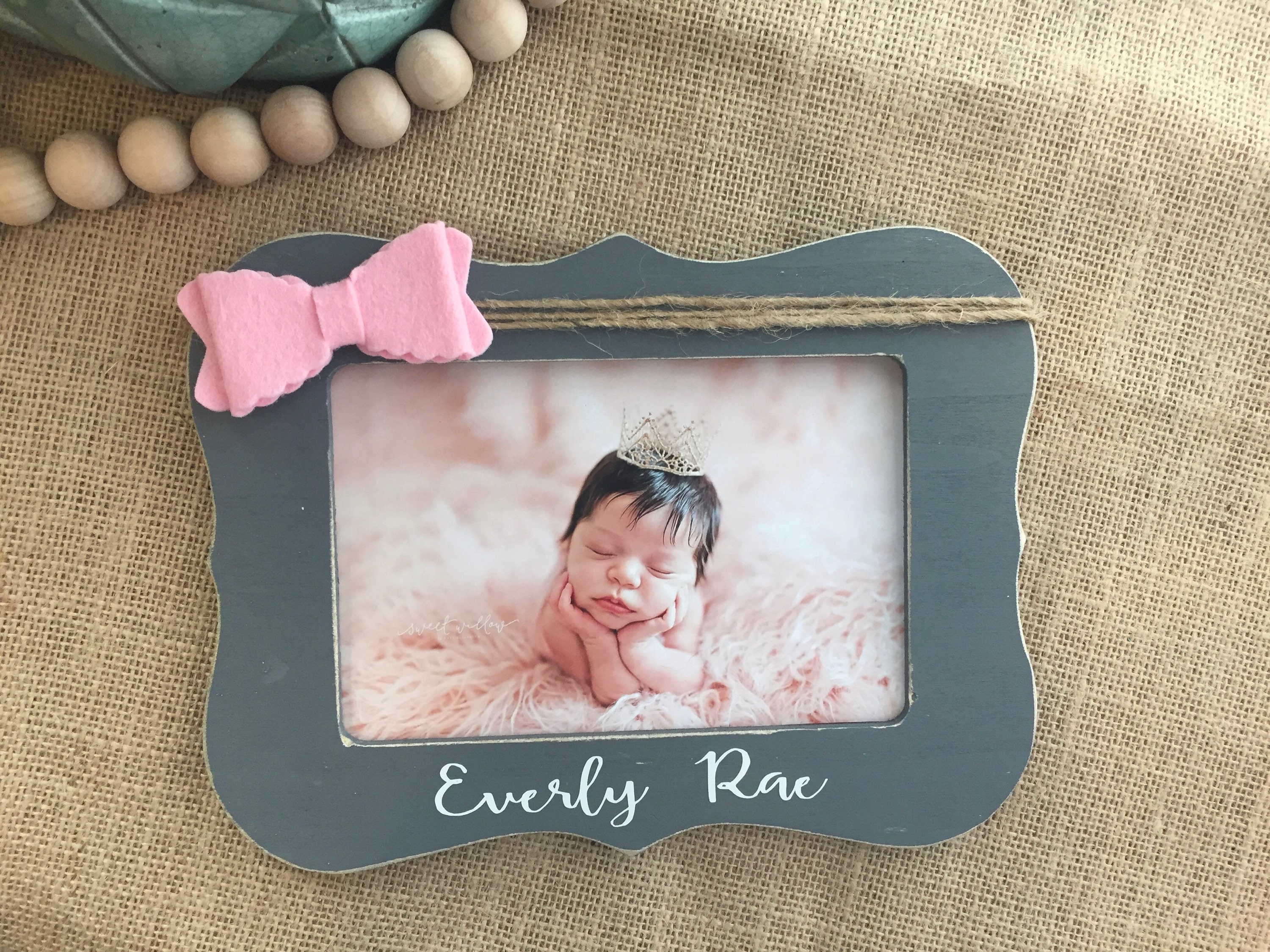 New baby girl personalized gift personalized baby girl gift love new baby girl personalized gift personalized baby girl gift love at first sight frame ultrasound picture frame baby shower gift negle Images