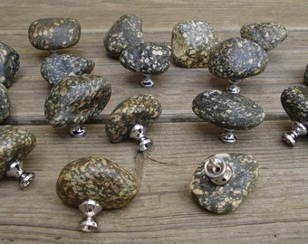 River Rock Stone Knobs Granite