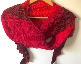 Ruby Wool Scarf