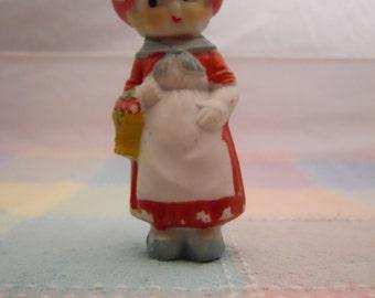 Bisque Dutch Girl — Japan — c1920s