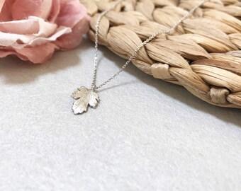 Maple Leaf Necklace ~ Silver/Gold/RoseGold