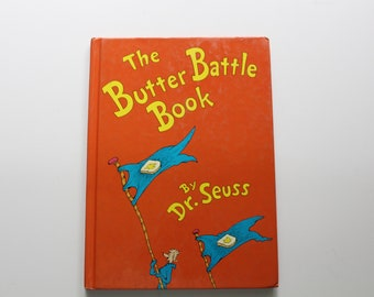 Vintage Dr. Seuss The Butter Battle Book Hardback Children's Book 1984