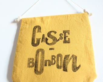 """Flag of linen """"Case candy"""""""
