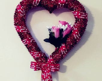 Valentine's Day Handcrafted Ornamental Heart