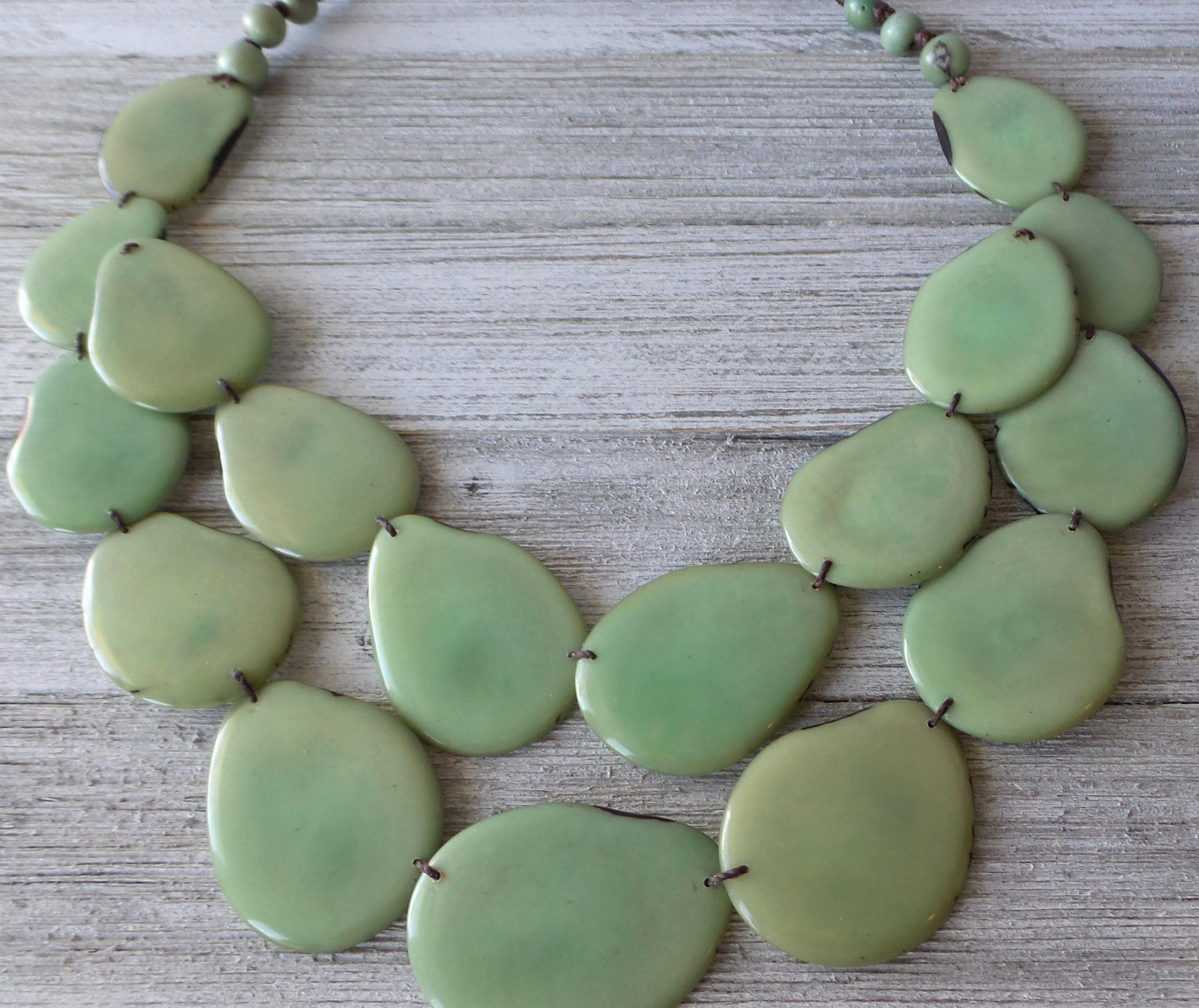 on crowdyhouse mg necklace sage shop