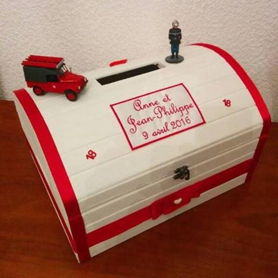 tirelire urne de bapteme mariage anniversaire communion coffre. Black Bedroom Furniture Sets. Home Design Ideas