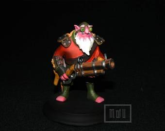 Sniper Dota 2 Handmade Figurine