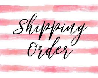 Shipping Order