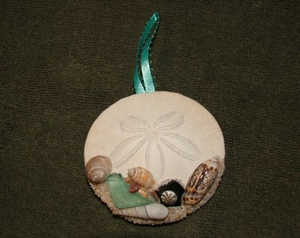 ornaments, shell, home decor, nautical decor,handmade