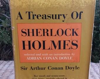 A Treasury of Sherlock Holmes by Sir Arthur Conan Doyle With The Bulletin Presents June 1957