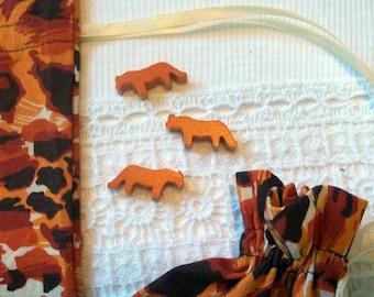 Animal Print Gift Bags Set of 2
