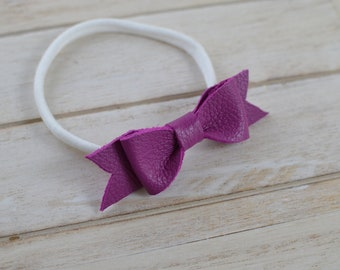 Boutique Bow in Purple