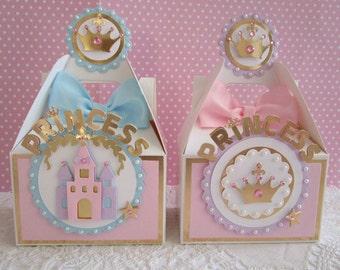Princess Favor Boxes,Princess Party Favors, Princess Favors, Favor Boxes, Princess Party, Girl Favor Boxes, Princess Gift Box,