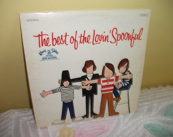 Best of Lovin Spoonful Vinyl Record Album NEAR MINT condition
