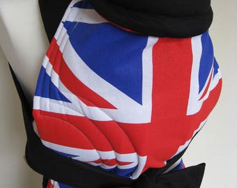Mei Tai Baby Carrier , Bei-dai, Meh-dai / Sling / Reversible/ Olympics GB Edition in straight cut model / Made in UK