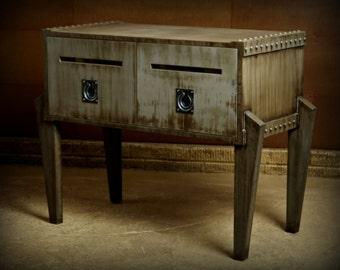 steam punk furniture. Industrial Furniture, Steampunk Office, Liquor Cabinet, Bar Furniture Steam Punk