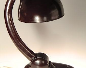 Bohemian Czech Art Deco Bakelite Table Lamp - RARE