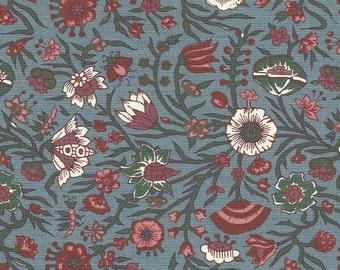 Genuine Dutch Cotton Chintz    Hindenlopen Pale Blue FQ