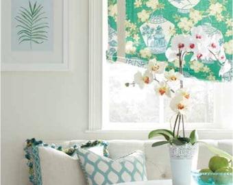 Curtain panels green chinoiserie lantern cherry blossom print green curtains green curtain panels modern chinoiserie curtains green drapes