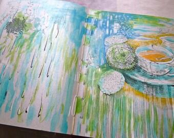 Waterfallllllllllll | Artist's Book - Travel Sketchbook - Road Comics - 1st Edition