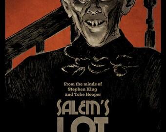 Salem's Lot Stephen King movie poster full colour art print