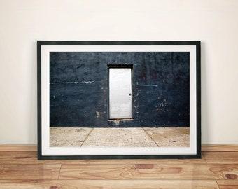 Door to Nowhere Photography Art Print Poster