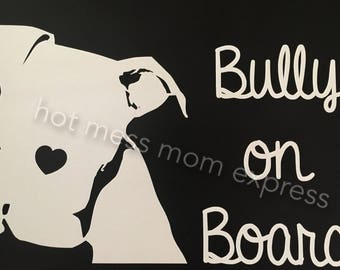 Billy on Board Decal