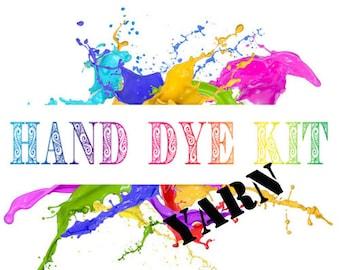 Hand Dye Kit - YARN - 100g