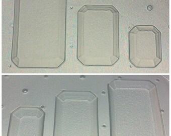 Flexible Resin Molds Faceted Gems