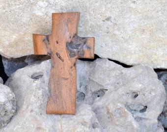 Holz Kreuz; Rustikal; Holz-Wand Kreuz; Mesquite; Kommunion; Taufe; Sympathie; Hochzeits-Geschenk; Graduierung; Bestätigung; Kostenlose Boden Versand USA