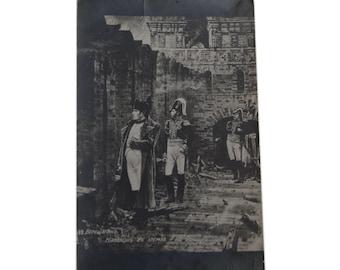 "Antique Vintage 1910-s Postcard Photo Emperor Napoleon I Military 5.31""x3.42"""