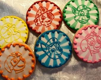 Paw Patrol Sugar Cookies