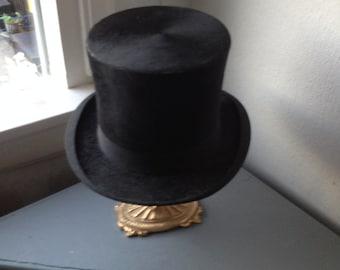 Antike niederländische Biber oben Hut