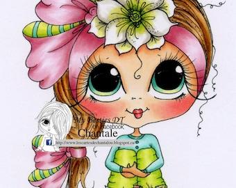 INSTANT DOWNLOAD digitale Digi Stamps Big Eye Big Head poppen nieuwe Besties img707 My Besties door Sherri Baldy