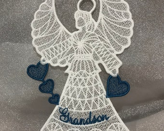 Grandson Angel (Free Standing Lace)