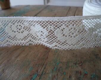 2 Yards Vintage Lace Trim